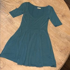 Silence + Noise dress blue XS